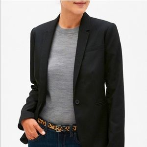 Karen Scott Classic Black Blazer